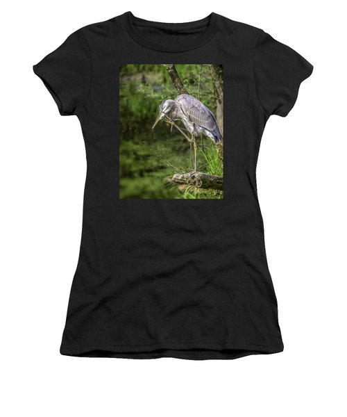 Great Blue Heron Itch Women's T-Shirt