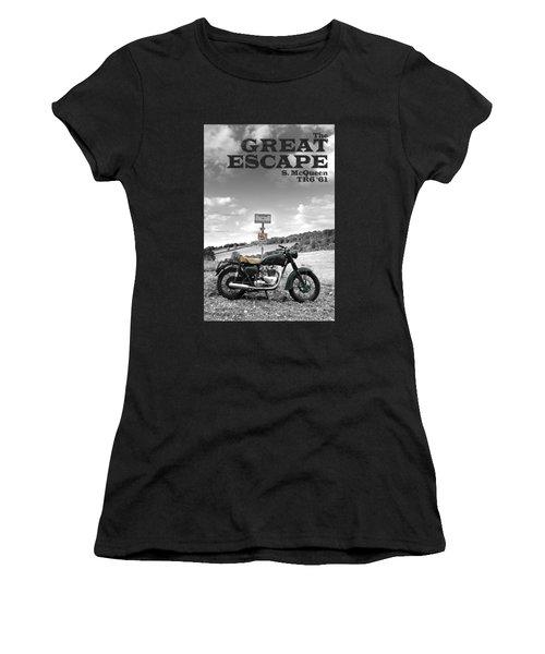 Great Escape Motorcycle Women's T-Shirt