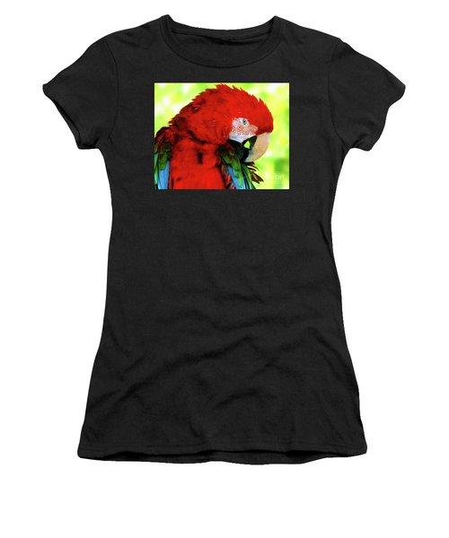 Green-winged Macaw Women's T-Shirt