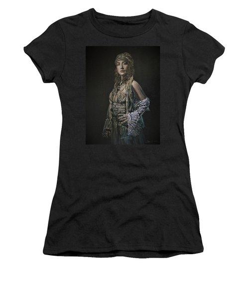 Gypsy Portrait Women's T-Shirt
