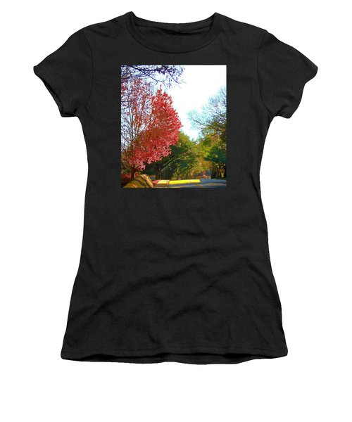 Women's T-Shirt (Athletic Fit) featuring the photograph Half Full... by Don Moore