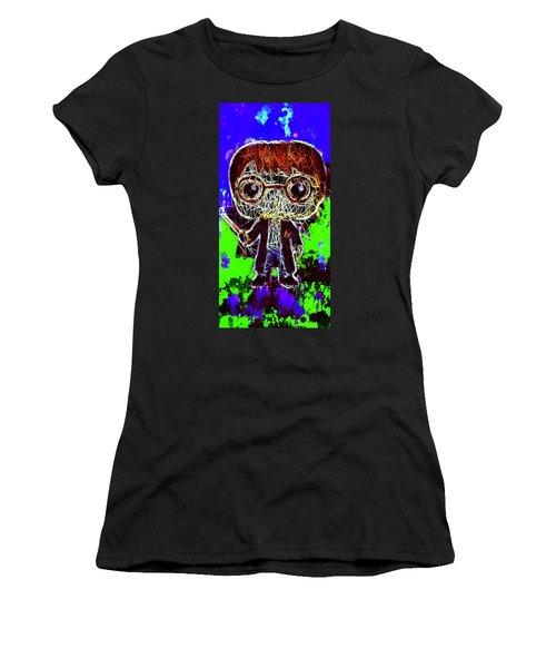 Women's T-Shirt featuring the mixed media Harry Potter Pop by Al Matra