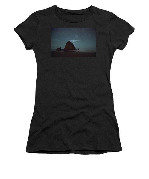 Haystack Under The Stars Women's T-Shirt