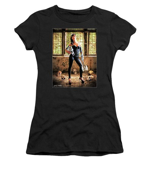High Heeled Zombie Slayer Women's T-Shirt