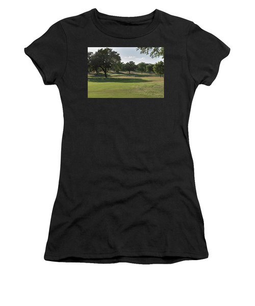 Hole #16 Women's T-Shirt (Athletic Fit)