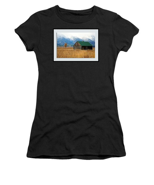 Women's T-Shirt (Athletic Fit) featuring the photograph Home On The Range by Pete Federico