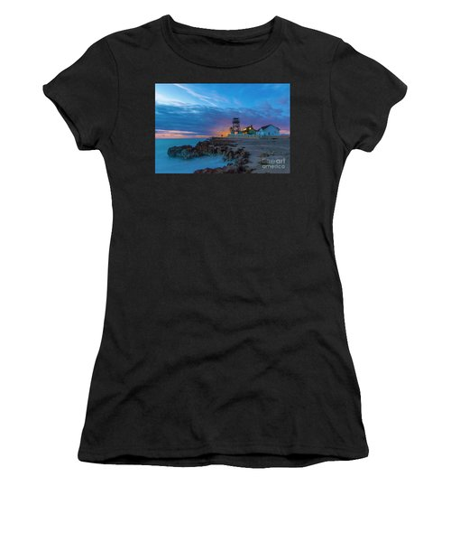 Women's T-Shirt featuring the photograph House Of Refuge Morning by Tom Claud