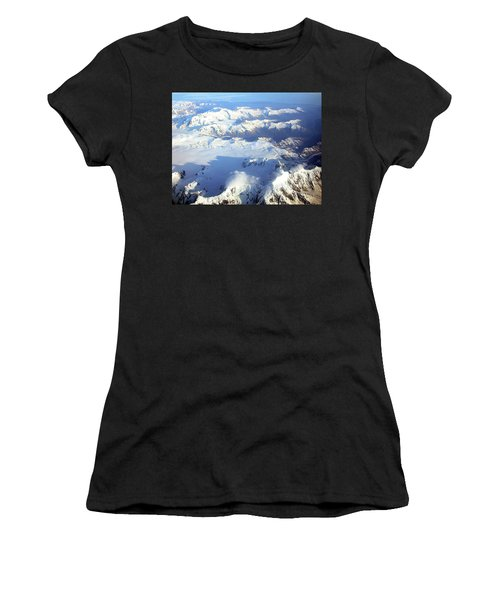 Icebound Mountains Women's T-Shirt