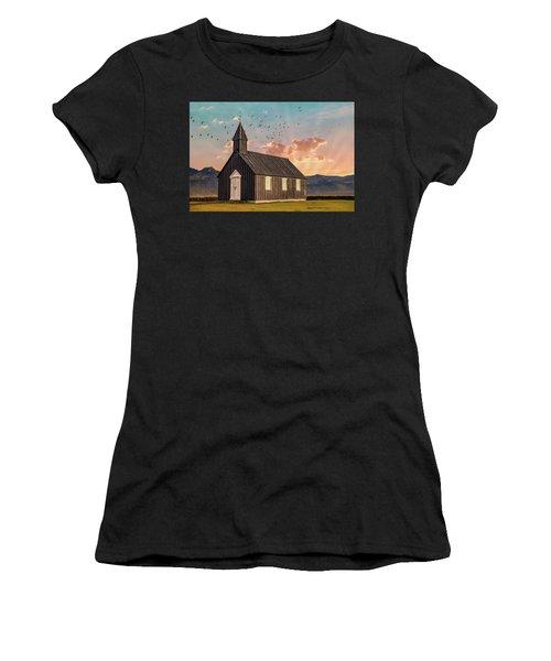 Iceland Chapel Women's T-Shirt