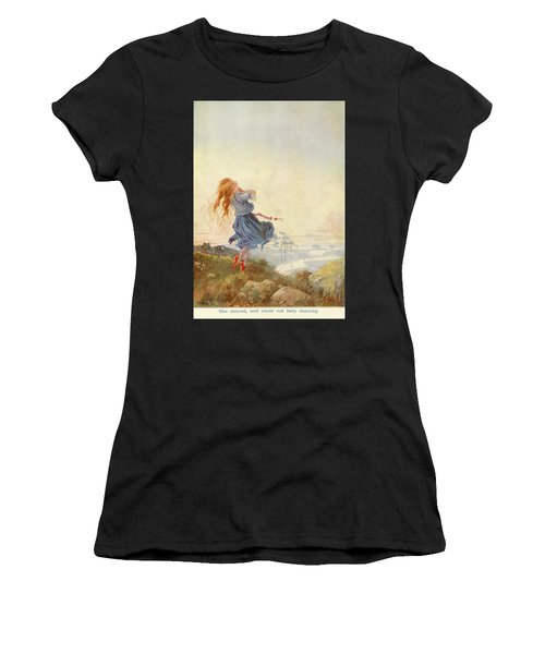 Illustration For The Red Shoes Women's T-Shirt
