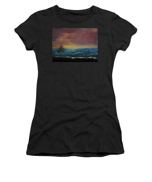 Impressions Of The Sea Women's T-Shirt