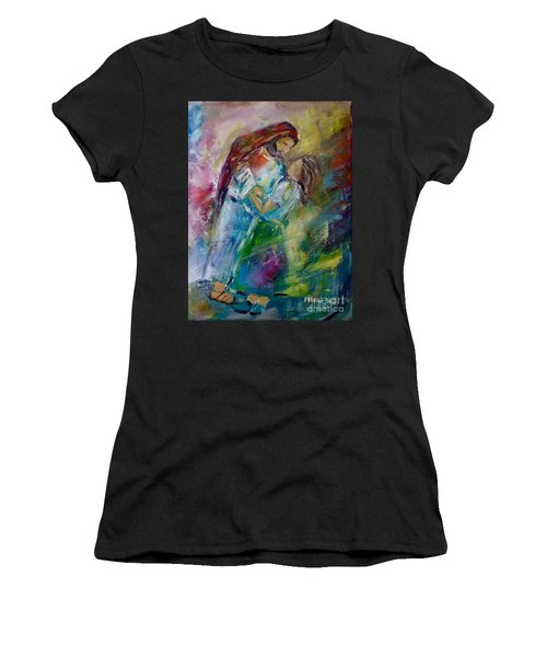 In His Presence Women's T-Shirt (Athletic Fit)