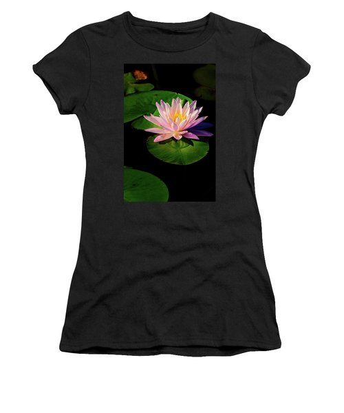 Women's T-Shirt featuring the photograph In The Spotlight by Jeff Sinon