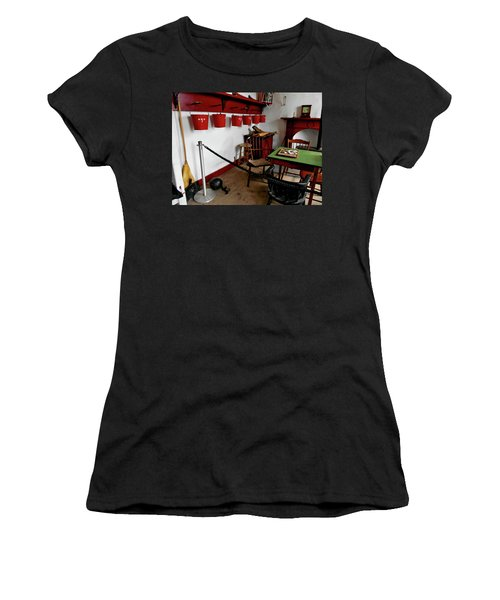 Interior Room At Fort Ontario In Oswego, New York Women's T-Shirt