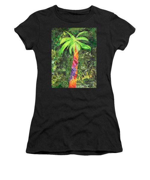 Island Jubilee Mixed Media Art Women's T-Shirt
