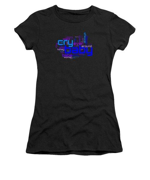 Janis Joplin - Cry Baby Lyrical Cloud Women's T-Shirt