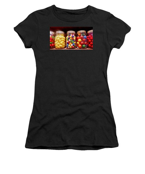 Women's T-Shirt featuring the photograph Jaw Breakers by Joan Reese