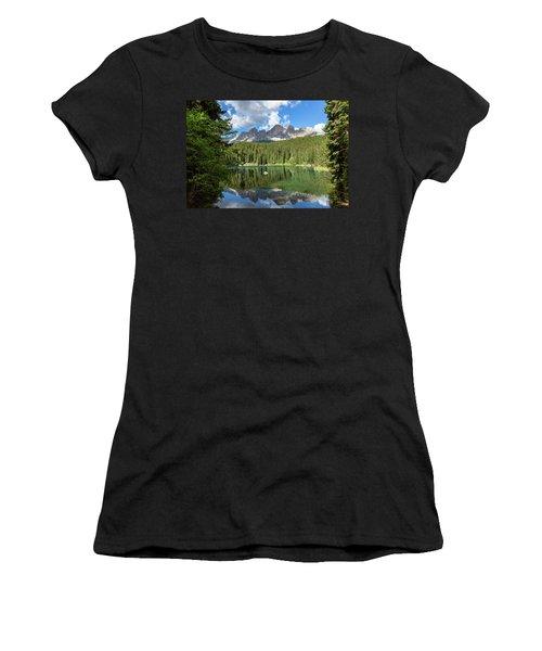 Karersee And Rosengarten Group Women's T-Shirt