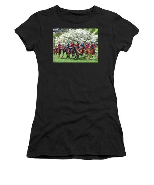 Keeneland Down The Stretch Women's T-Shirt