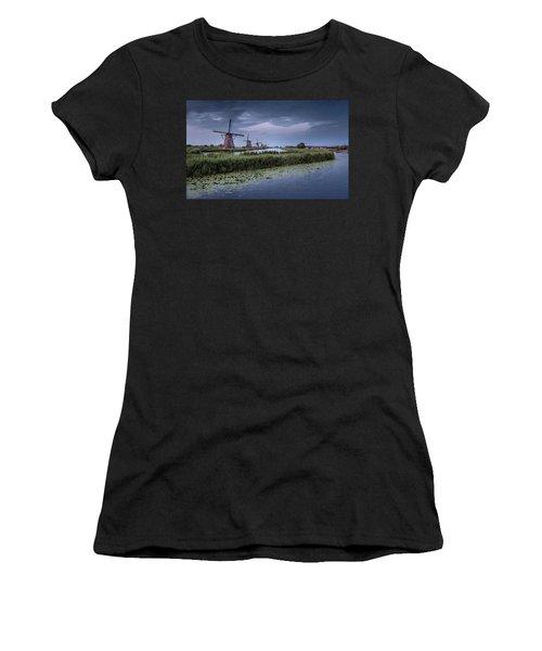 Kinderdijk Dark Sky Women's T-Shirt