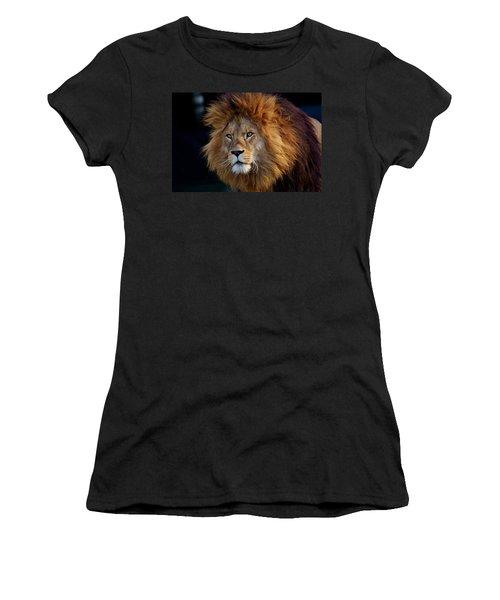 King Lion Women's T-Shirt (Athletic Fit)