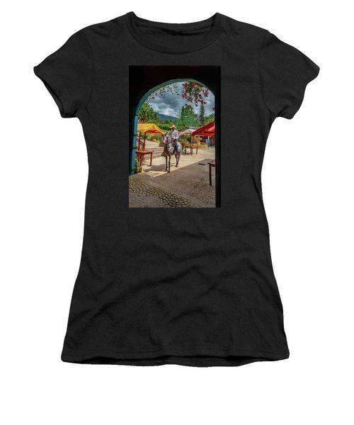 Women's T-Shirt featuring the photograph La Mayoria by Francisco Gomez