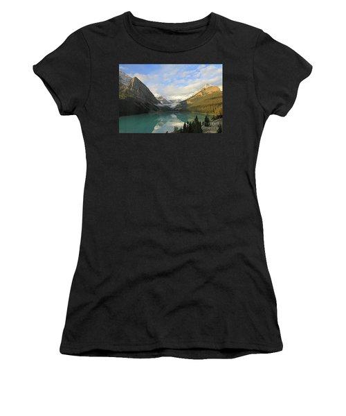 Lake Louise At Dawn Women's T-Shirt