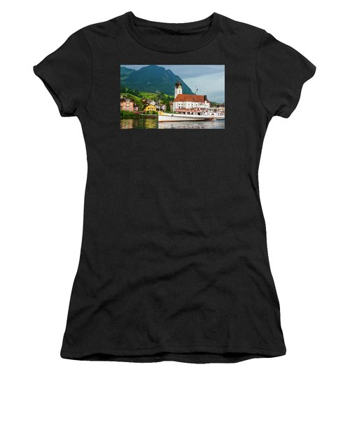 Lake Lucerne Steamer Women's T-Shirt