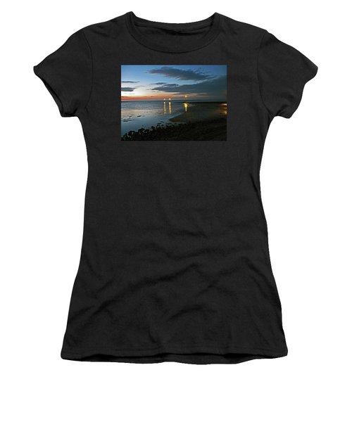 Lancashire. Knott End. Sunset.. Women's T-Shirt