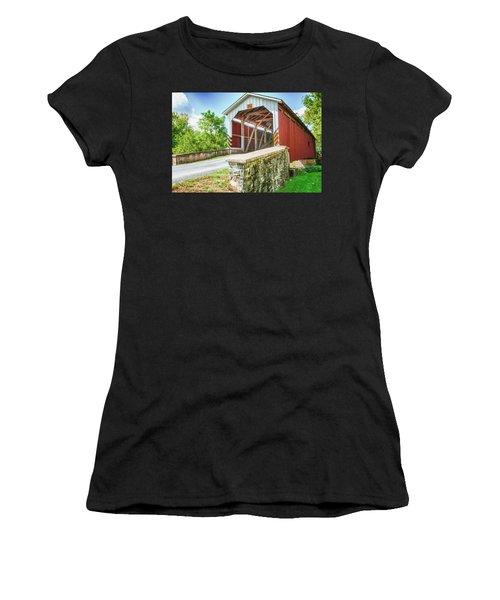 Lancaster Covered Bridge Women's T-Shirt