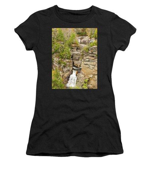 Linville Falls - Vertical Women's T-Shirt