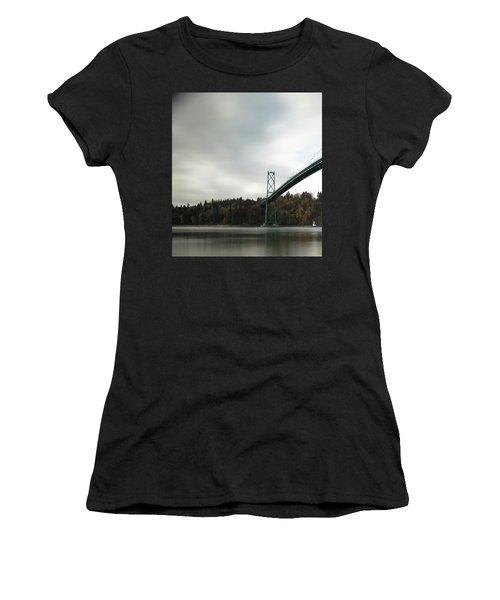 Lions Gate Bridge Vancouver Women's T-Shirt