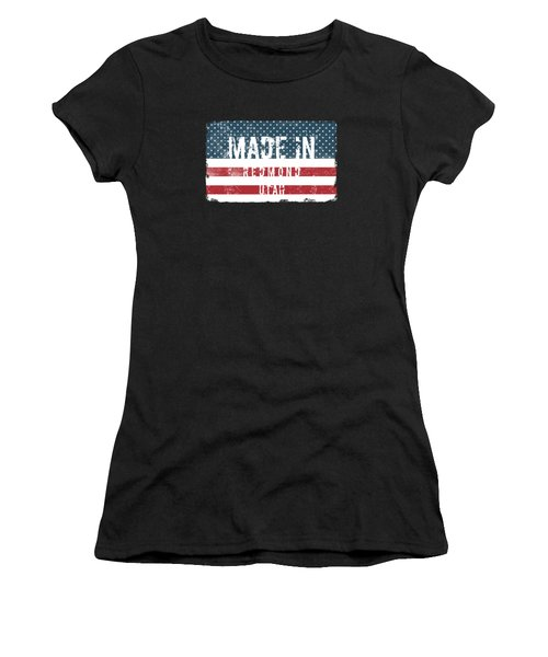 Made In Redmond, Utah Women's T-Shirt