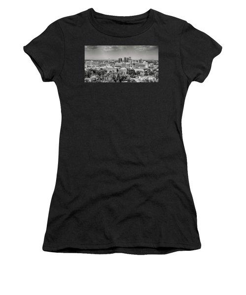 Magic City Skyline Bw Women's T-Shirt