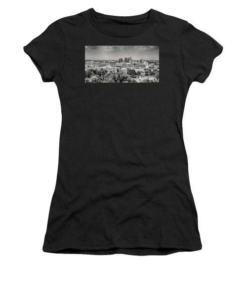 Magic City Skyline Bw Women's T-Shirt