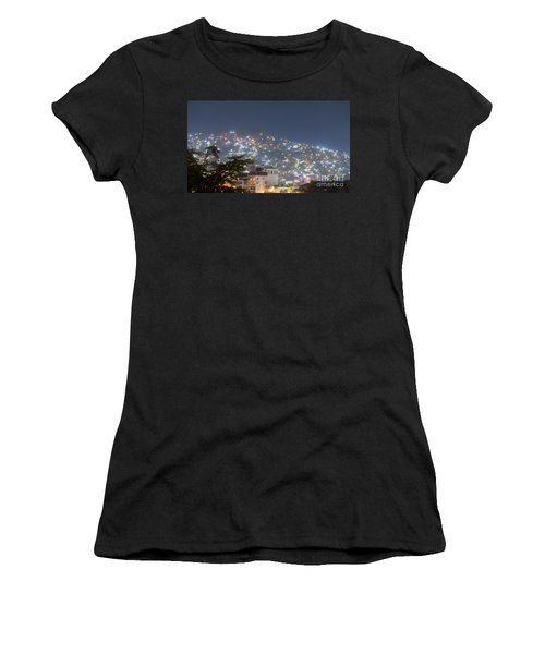 Women's T-Shirt featuring the photograph Magic Of Zihuatanejo Bay by Rosanne Licciardi