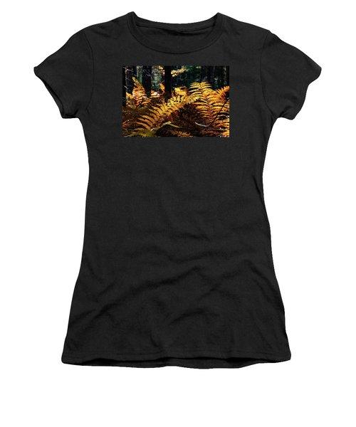 Maine Autumn Ferns Women's T-Shirt