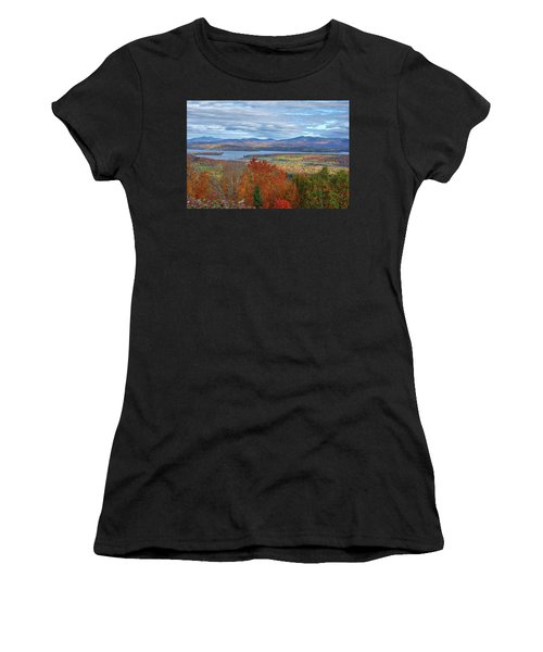Maine Fall Colors Women's T-Shirt