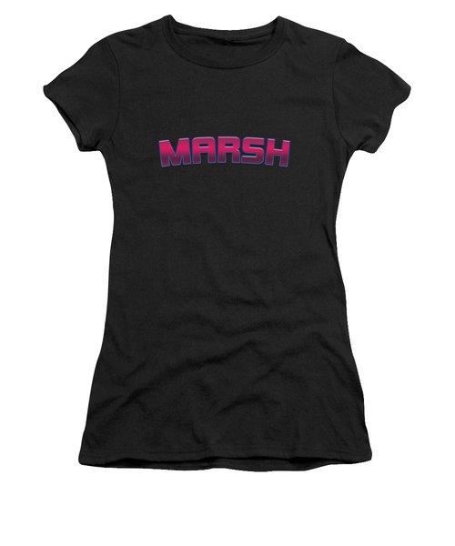 Marsh #marsh Women's T-Shirt