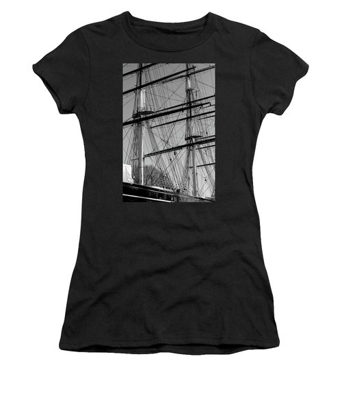 Masts And Rigging Of The Cutty Sark Women's T-Shirt