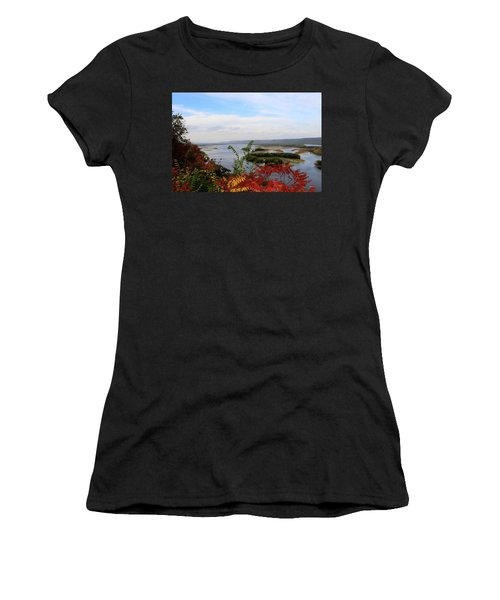 Mississippi River In The Fall Women's T-Shirt