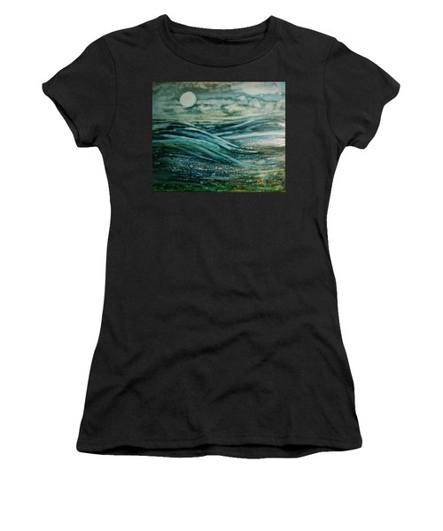 Moonlit Storm Women's T-Shirt
