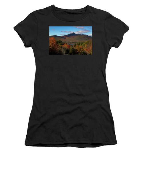 Women's T-Shirt featuring the photograph Mount Chocorua New Hampshire by Jeff Folger