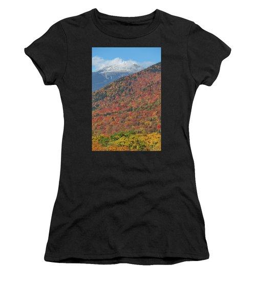 Mount Washington First Autumn Snow Women's T-Shirt