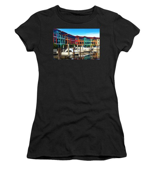 Naples Florida Series 9199 Women's T-Shirt