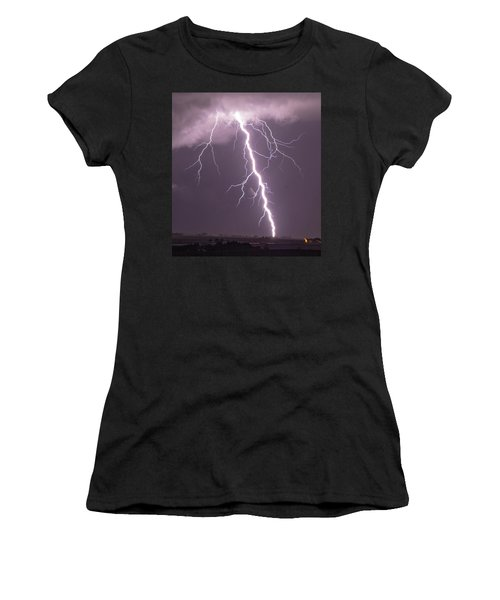 Nebraska Arcus And Lightning 046 Women's T-Shirt