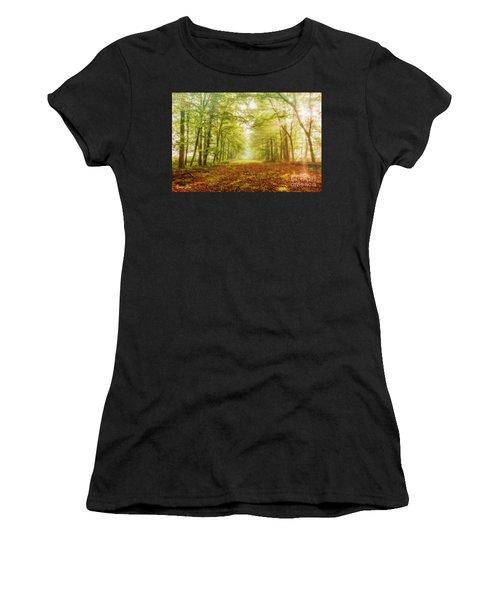 Neither Summer Nor Winter But Autumn Light Women's T-Shirt