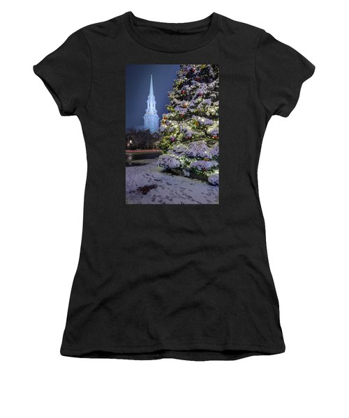 New Snow For Christmas Women's T-Shirt