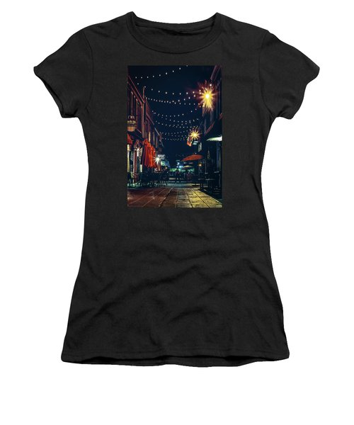 Night Dining In The City Women's T-Shirt