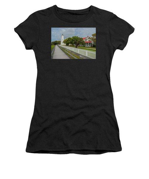 Ocracoke Lighthouse  Women's T-Shirt